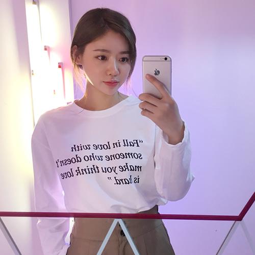 하드영문레터링티셔츠